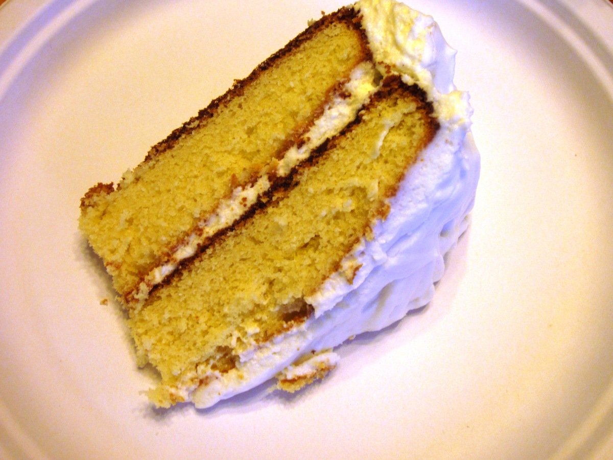 Martha Stewart's Yellow Layer Cake with Vanilla Frosting